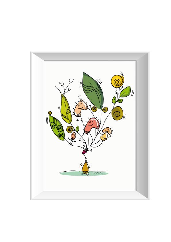 Pascale gery umameks fleche arbre