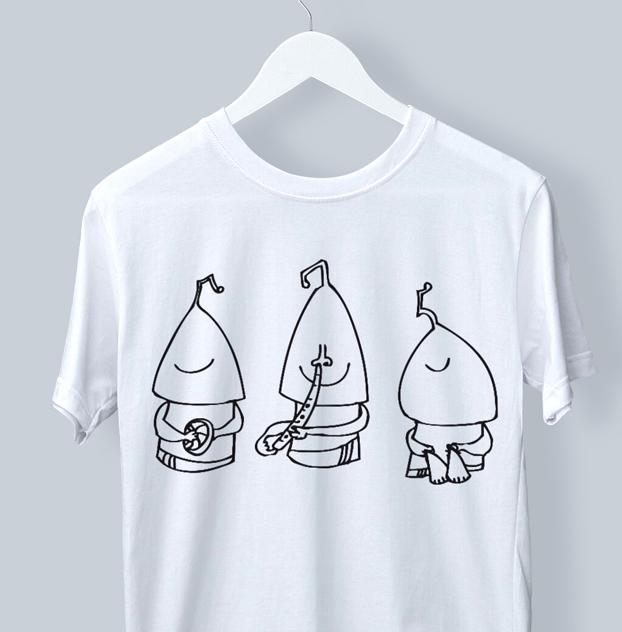 T shirt 3 sings