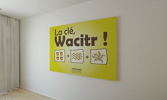 Wacitr Wall - Pascale GERY